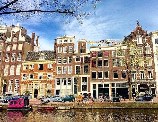 Amsterdam e i tulipani in fiore parte uno for Case in stile cracker