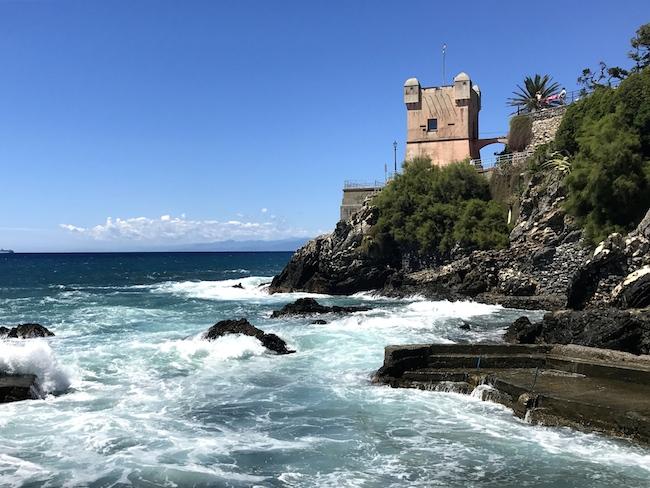 Bagni Blue Marlin Nervi : Genova e dintorni: a cena sugli scogli