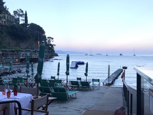Genova e dintorni: a cena sugli scogli