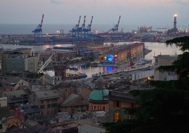Genova Spianata Castelletto