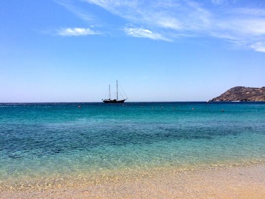 Mykonos (un salto nel blu)