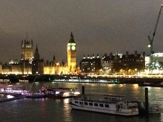 L'atmosfera natalizia di Londra