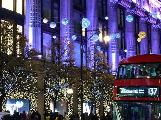 Decorazioni Natalizie Londra 2019.L Atmosfera Natalizia Di Londra