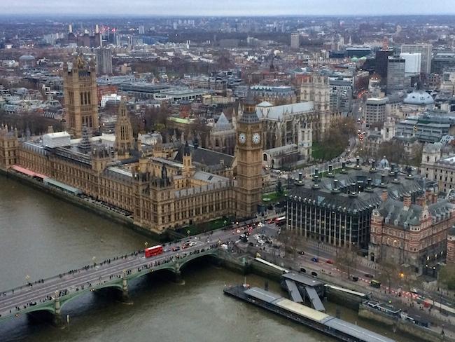 Cinque italiani a Londra