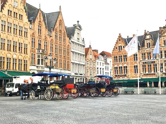 In viaggio verso Londra: Colmar e Bruges