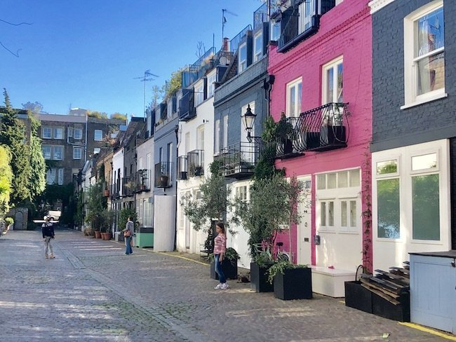 5 lovely London Mews