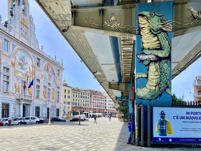 Venite a scoprire la Street Art di Genova